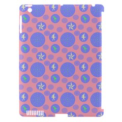 Pink Retro Dots Apple Ipad 3/4 Hardshell Case (compatible With Smart Cover) by snowwhitegirl