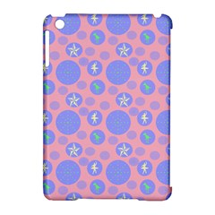 Pink Retro Dots Apple Ipad Mini Hardshell Case (compatible With Smart Cover) by snowwhitegirl