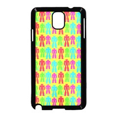 Colorful Robots Samsung Galaxy Note 3 Neo Hardshell Case (black) by snowwhitegirl