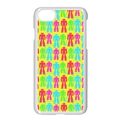 Colorful Robots Apple Iphone 7 Seamless Case (white) by snowwhitegirl