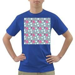 Pink Dress Blue Dark T-shirt