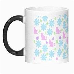 Cats And Flowers Morph Mugs