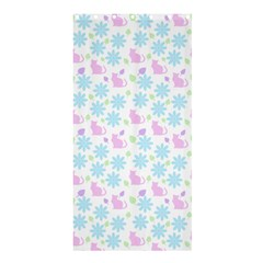 Cats And Flowers Shower Curtain 36  X 72  (stall)  by snowwhitegirl