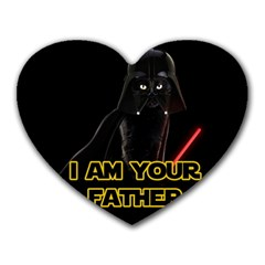 Darth Vader Cat Heart Mousepads