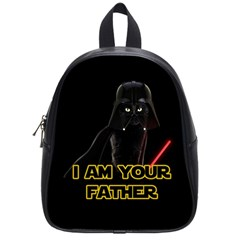 Darth Vader Cat School Bag (small) by Valentinaart