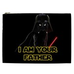 Darth Vader Cat Cosmetic Bag (XXL)  Front