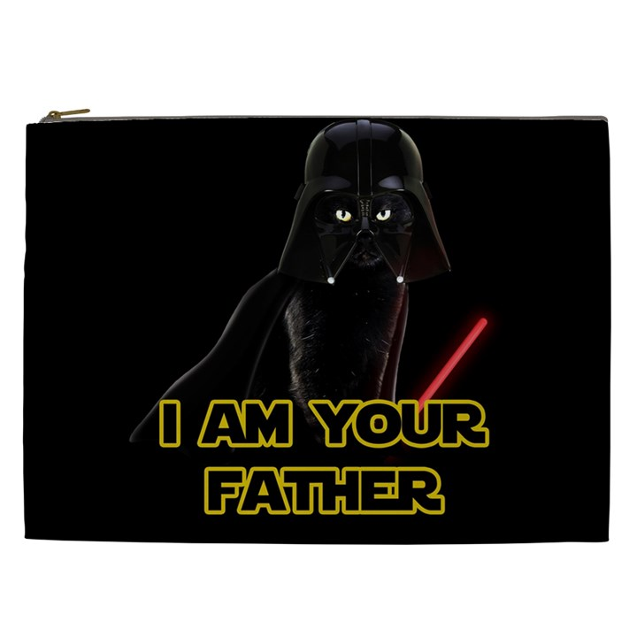 Darth Vader Cat Cosmetic Bag (XXL)