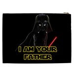 Darth Vader Cat Cosmetic Bag (XXL)  Back