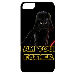 Darth Vader Cat Apple Iphone 5 Classic Hardshell Case by Valentinaart