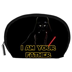 Darth Vader Cat Accessory Pouches (large)  by Valentinaart