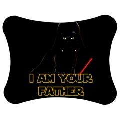 Darth Vader Cat Jigsaw Puzzle Photo Stand (bow) by Valentinaart
