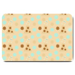 Beige Dress Large Doormat