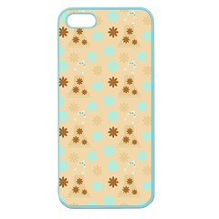 Beige Dress Apple Seamless Iphone 5 Case (color) by snowwhitegirl