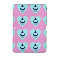 Cupcakes In Pink Samsung Galaxy Tab 2 (10 1 ) P5100 Hardshell Case  by snowwhitegirl