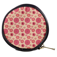 Cream Retro Dots Mini Makeup Bags