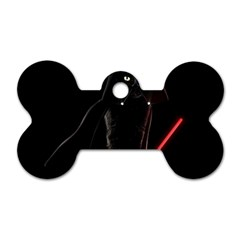 Darth Vader Cat Dog Tag Bone (two Sides) by Valentinaart