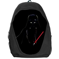 Darth Vader Cat Backpack Bag by Valentinaart