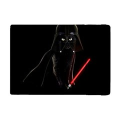 Darth Vader Cat Apple Ipad Mini Flip Case by Valentinaart