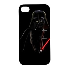 Darth Vader Cat Apple Iphone 4/4s Hardshell Case With Stand
