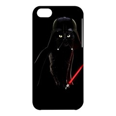 Darth Vader Cat Apple Iphone 5c Hardshell Case by Valentinaart