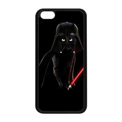 Darth Vader Cat Apple Iphone 5c Seamless Case (black) by Valentinaart