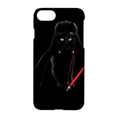Darth Vader Cat Apple Iphone 7 Hardshell Case by Valentinaart