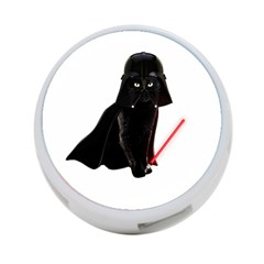 Darth Vader Cat 4 Port Usb Hub (two Sides)