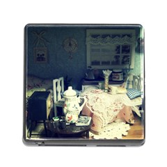 Abandonded Dollhouse Memory Card Reader (square) by snowwhitegirl