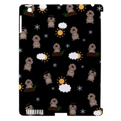 Groundhog Day Pattern Apple Ipad 3/4 Hardshell Case (compatible With Smart Cover) by Valentinaart