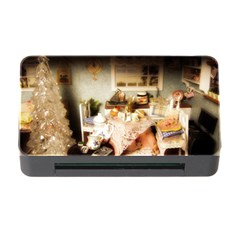 Dollhouse Christmas Memory Card Reader With Cf