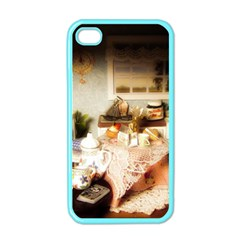 Dollhouse Christmas Apple Iphone 4 Case (color)