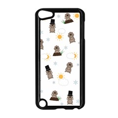 Groundhog Day Pattern Apple Ipod Touch 5 Case (black)