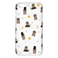 Groundhog Day Pattern Iphone 6 Plus/6s Plus Tpu Case by Valentinaart
