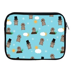 Groundhog Day Pattern Apple Ipad 2/3/4 Zipper Cases