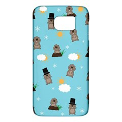 Groundhog Day Pattern Galaxy S6 by Valentinaart