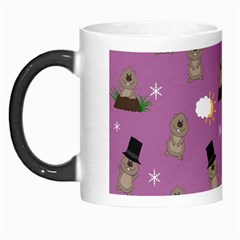 Groundhog Day Pattern Morph Mugs by Valentinaart