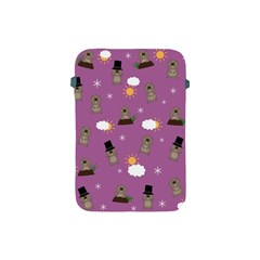 Groundhog Day Pattern Apple Ipad Mini Protective Soft Cases by Valentinaart