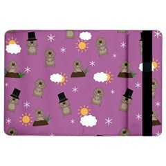 Groundhog Day Pattern Ipad Air 2 Flip by Valentinaart