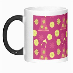Yellow Flowers Dress Morph Mugs