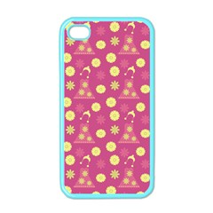 Yellow Flowers Dress Apple Iphone 4 Case (color) by snowwhitegirl