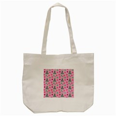 Green Dress Pink Tote Bag (cream)