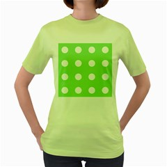 Lime Dot Women s Green T-shirt