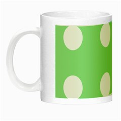 Lime Dot Night Luminous Mugs