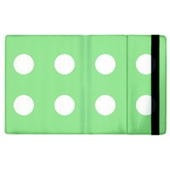 Lime Dot Apple Ipad 3/4 Flip Case by snowwhitegirl