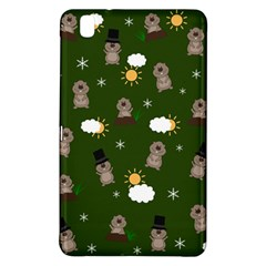 Groundhog Day Pattern Samsung Galaxy Tab Pro 8 4 Hardshell Case by Valentinaart