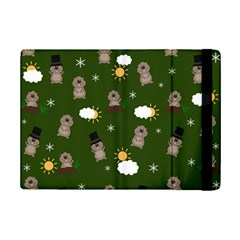 Groundhog Day Pattern Ipad Mini 2 Flip Cases by Valentinaart