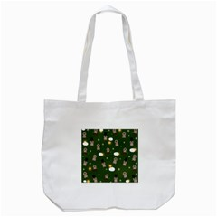 Groundhog Day Pattern Tote Bag (white) by Valentinaart