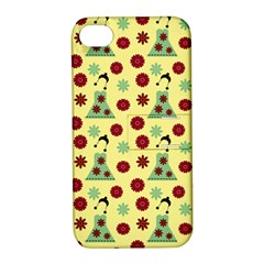 Green Dress Yellow Apple Iphone 4/4s Hardshell Case With Stand by snowwhitegirl