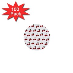 Cherries 1  Mini Buttons (100 Pack)