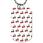 Cherries Dog Tag (One Side) Front